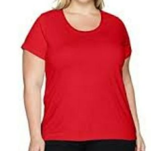 Clementine Ladies Red Short Sleeve Tee NEW
